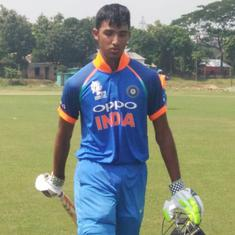 Padikkal, Rawat's centuries, Desai's six-for sets up India's 227-run win over UAE in U-19 Asia Cup