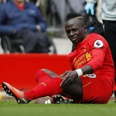 Liverpool's Sadio Mane could miss rest of the season due to knee injury: Reports