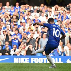 Chelsea's Hazard gamble pays off, City's attacking depth: Talking points from Premier League weekend