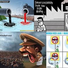 After violent crackdown on Thoothukudi protests, cartoonists take aim at police brutality