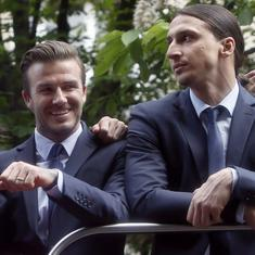 World Cup: Zlatan Ibrahimovic and David Beckham agree on hilarious Sweden vs England wager