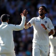 Bowlers come good again as India dominate England on day one of fifth Test
