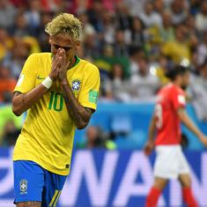 World Cup 2018: Brazil's Neymar suffers injury scare, limps out of training