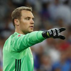 Bayern Munich president says club won't release players for Germany if Neuer is not first-choice