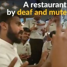 Watch: There's a reason the staff at this Mumbai restaurant won't speak to you in your language