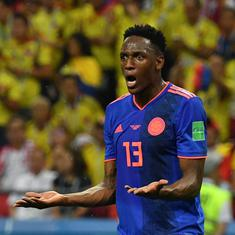 Everton defender Yerry Mina fined by English FA for breaching betting rules