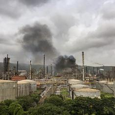 Mumbai: Fire breaks out at Bharat Petroleum plant in Chembur, 45 injured