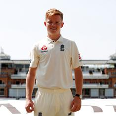 When England cricket's rising star Ollie Pope was officially commended by an Australian politician