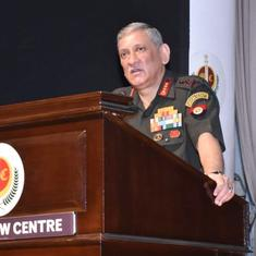 Army chief on Major Gogoi: 'Will deal sternly with any case of corruption or moral turpitude'