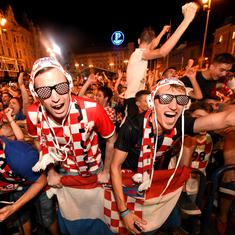 'The magnificent victory of the Fiery Ones': Croatia's euphoric over Argentina triumph