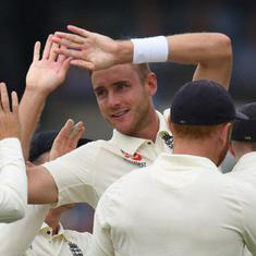 Broad, Anderson put England on top on day one of second Test against Pakistan