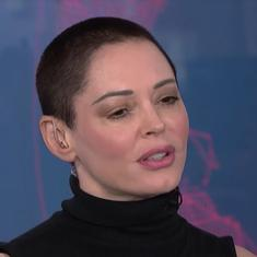 Watch: This is how actor Rose McGowan responded to Harvey Weinstein's arrest for rape