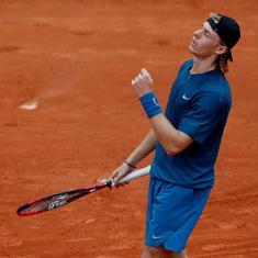 French Open, day 5 men's roundup: Nadal bulldozes, Thiem & Cilic stutter, Shapovalov knocked out