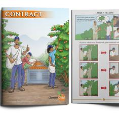 How contracts drawn up as comic strips are being put to use in South Africa