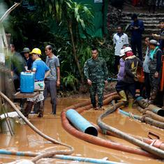 Thailand: Boys trapped in flooded cave may have to spend months underground, say rescuers