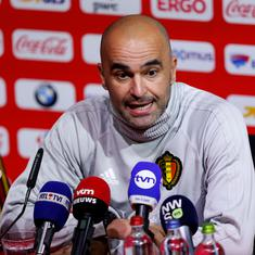 World Cup: Tactically astute Roberto Martinez keeps Belgium's golden generation on track for glory