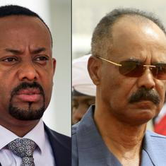 Ethiopia and Eritrea reopen border after 20 years as part of rapprochement