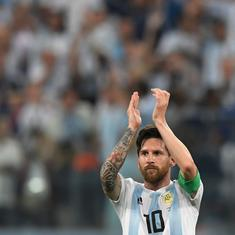 'God wasn't going to let us go out,' says Messi after Argentina sneak into World Cup last 16