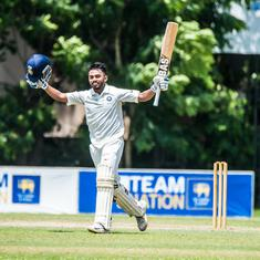 Taide, Badoni slam centuries to put India U-19 in command on day two of youth Test