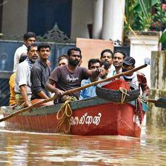 Kerala: Rescue work under way as flood waters recede, commercial flights land at Kochi naval base