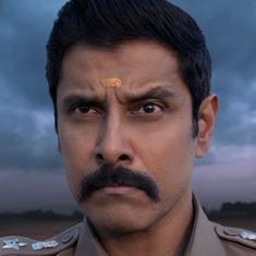 Watch: Vikram returns as Aarusamy in 'Saamy Square'