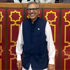 Arif Alvi sworn in as Pakistan's 13th president