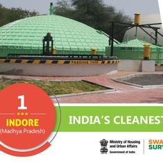 Indore India's cleanest city, Mumbai best among state capitals, says Centre