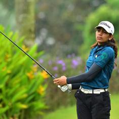 Golf: Diksha Dagar lies sixth after round one in Switzerland, Gangjee off to modest start in Japan