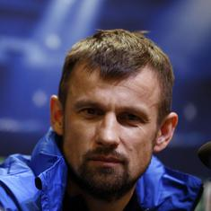 Zenit St Petersburg appoint Sergei Semak to replace Roberto Mancini as coach