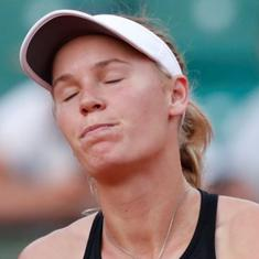 French Open, day 9 women's roundup: Halep through, Wozniacki bows out and Serena withdraws