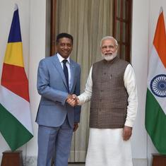 PM Modi, Seychelles president say they will work together on Assumption Island military base project
