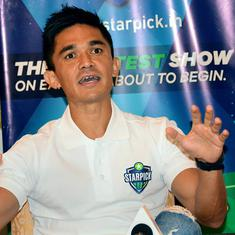 India need to play top-10 teams in continent before Asian Cup, says skipper Sunil Chhetri