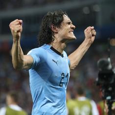 World Cup: Uruguay coach Tabarez non-commital on Cavani's participation against France