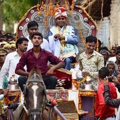 UP: Dalit groom takes 'baraat' through upper-caste streets amid tight security