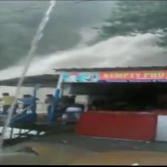Watch: Uttarakhand's Kempty Falls sees a dramatic increase in water flow after heavy rains