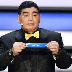 Diego Maradona hired to coach Mexican second-division side Dorados
