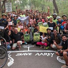 Despite threats and harassment, Mumbai activists are putting up a strong fight to save Aarey Colony
