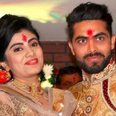 क्रिकेटर रवींद्र जडेजा की पत्नी रीवा के साथ पुलिसकर्मी ने हाथापाई की, मामला दर्ज