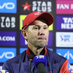 DD coach Ricky Ponting hails Indian players, rues lack of consistency as season comes to an end