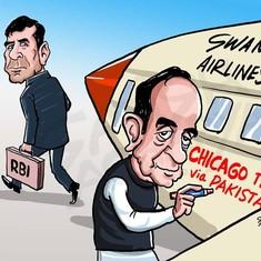 In cartoons: Raghuram Rajan's turbulent stint at the Reserve Bank of India