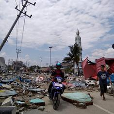 Indonesia: At least 384 killed after earthquake, tsunami hit Sulawesi island
