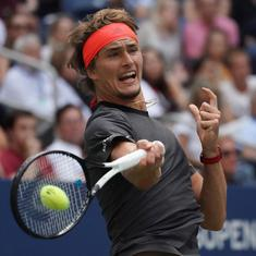 ATP Finals: Zverev fights back to down crumbling Cilic in error-strewn group match