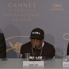 Watch: American filmmaker Spike Lee blasted Donald Trump with expletives at the Cannes Film Festival
