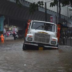 Monsoon arrives in Mumbai, heavy rain brings parts of the city to a standstill