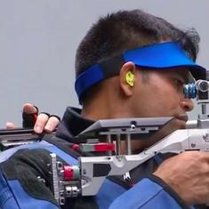 Asian Games: Deepak Kumar claims silver with superb showing under pressure in 10m air rifle