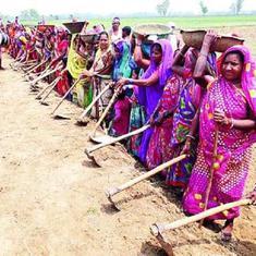 बिहार : गांव की महिलाओं ने मिलकर तीन दिन में दो किलोमीटर की सड़क बना डाली