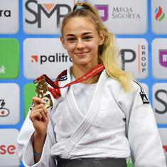 17-year-old Ukrainian Daria Bilodid becomes youngest world champion in judo history