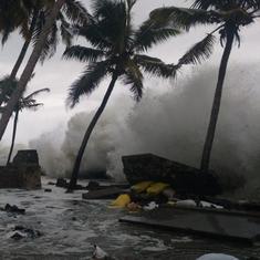 भारी बारिश की संभावना के चलते केरल, तमिलनाडु और पुडुचेरी के लिए रेड अलर्ट जारी