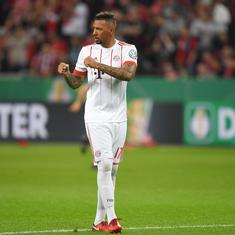 Coronavirus: Bayern fines defender Boateng for leaving city without permission to visit injured son