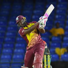 West Indies all-rounder Andre Russell ruled out of T20 series against India